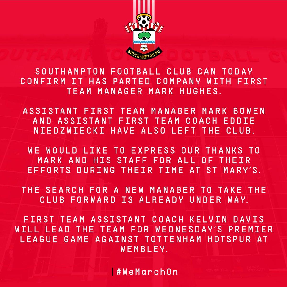 Southampton target Ralph Hasenhüttl after sacking Mark