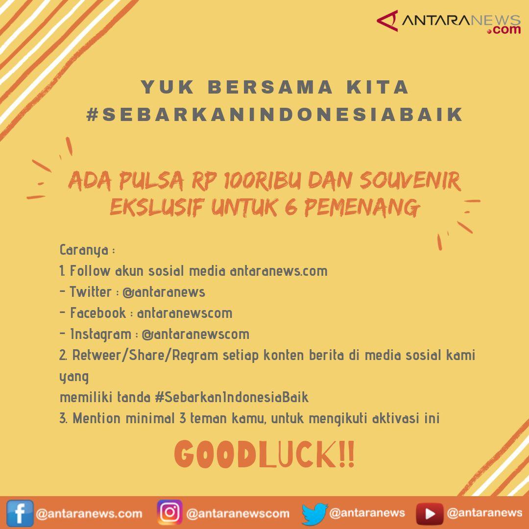 Masih ada kesempatan buat kamu dapatkan hadiah pulsa 100ribu dan souvenir menarik dari #SebarkanIndonesiaBaik edisi Desember 2018. Yuk ikutan!!