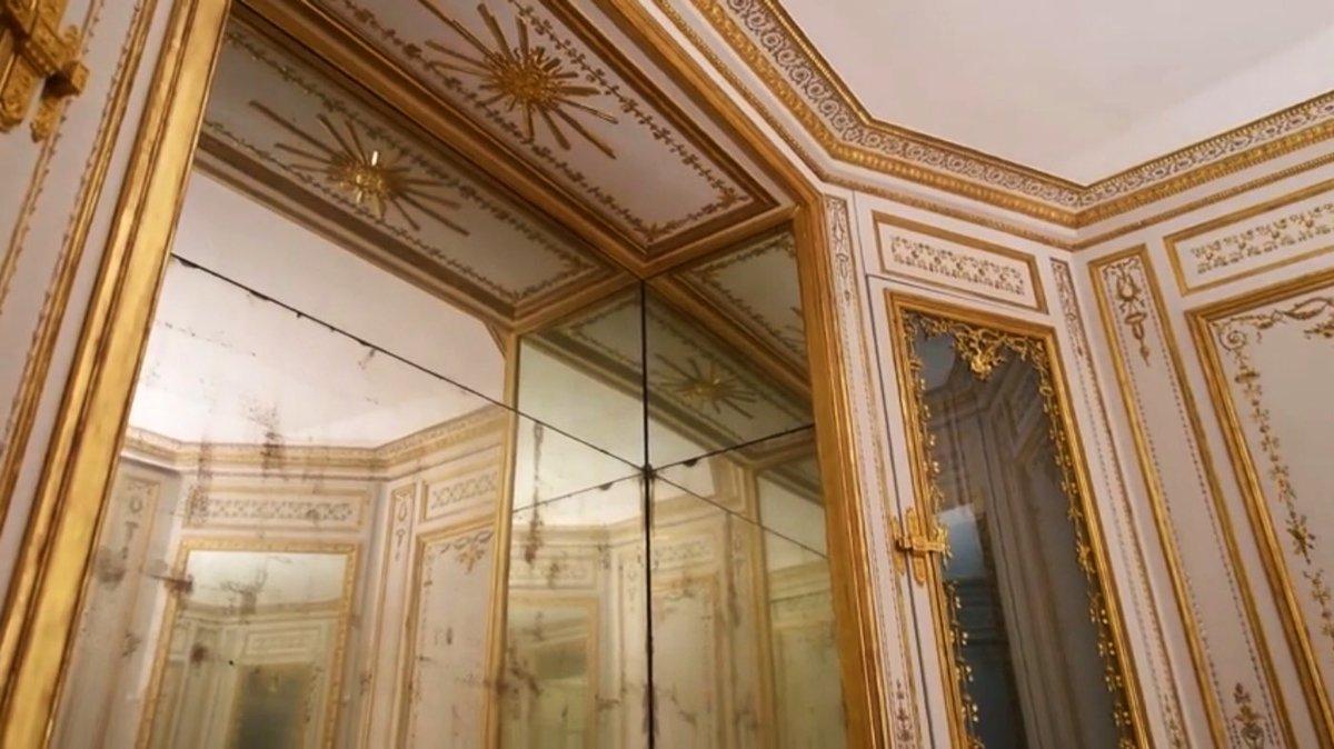 """Société des Amis de Versailles on Twitter: """"#LeSaviezVous 1080  #amisdeversailles ont contribué à la restauration architecturale du cabinet  de la #Méridienne au @CVersailles. Un #mécénat qui se poursuit dans la  phase de"""