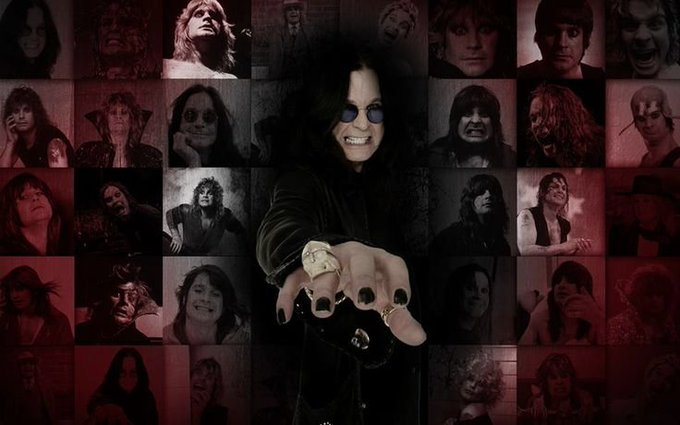 "Happy 70th Birthday to \""The Prince Of Darkness\"", Ozzy Osbourne!"