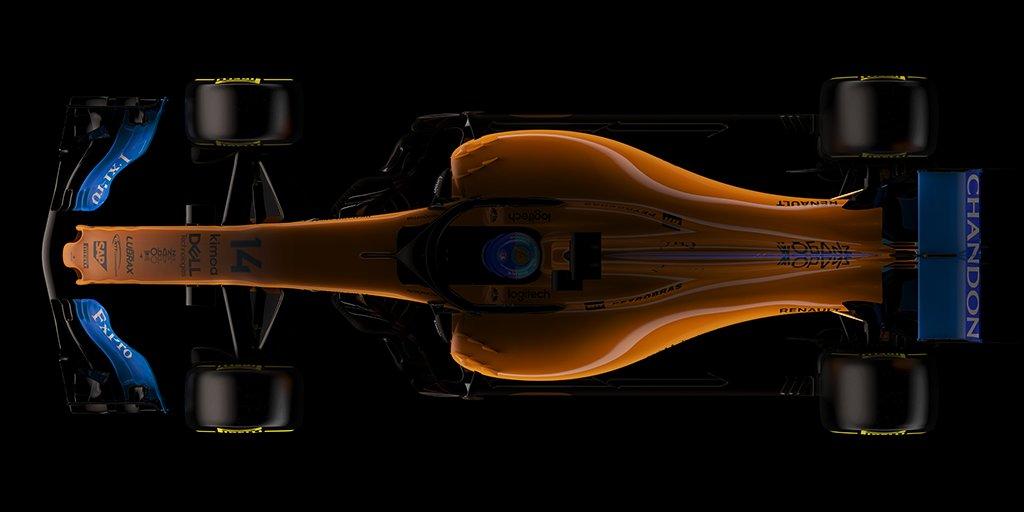 Sleek on the outside. Powerful on the inside. #SalutetoSpeed @McLarenF1.