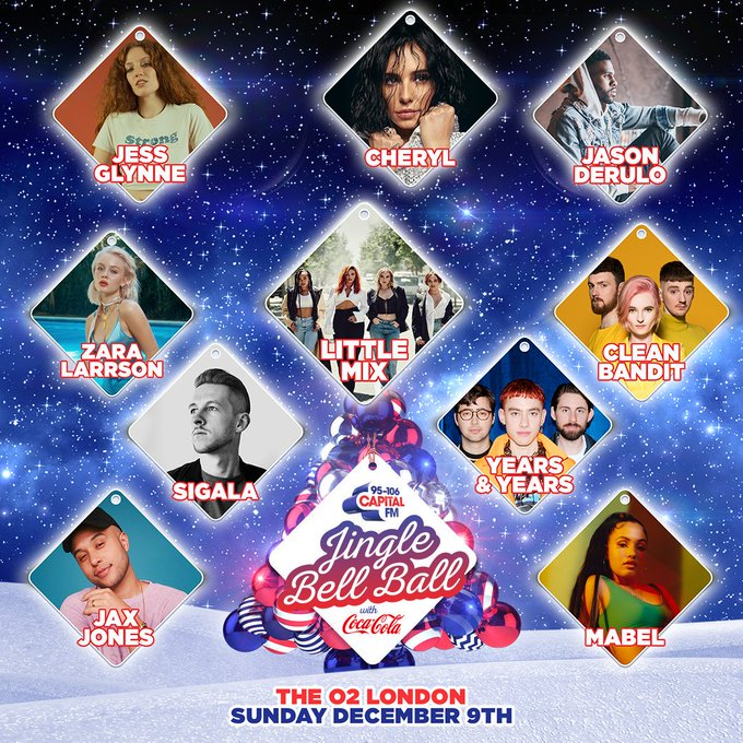 The sold out #CapitalJBB is only 5 DAYS and we've got your chance to win Sunday tickets next! 🎄🎅 Photo