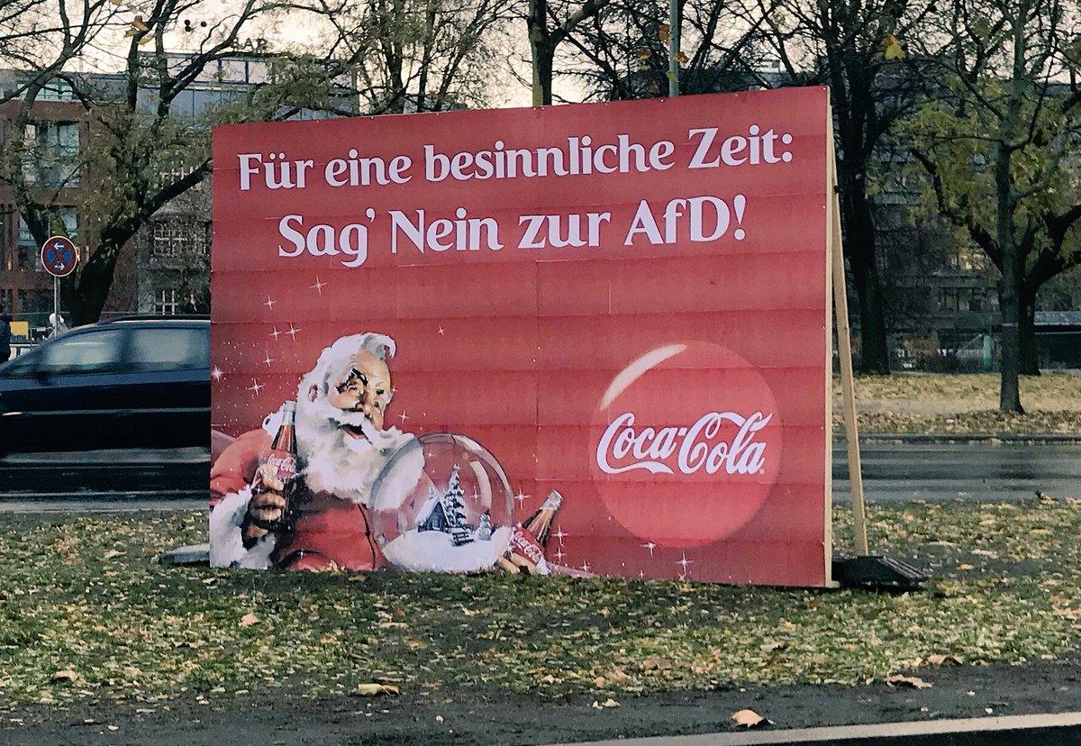 RT @Matth_Borowski: Ganz stark, @CocaCola_De!👌  #noafd https://t.co/XTiDUz0AXD