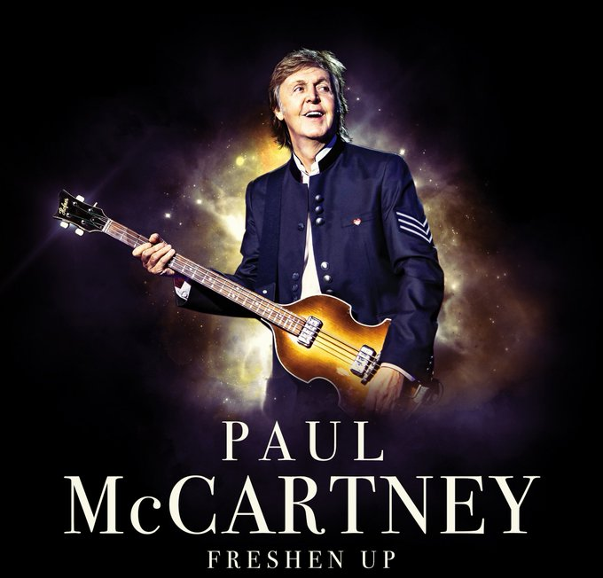 Today, Paul announces his first live shows of 2019. His critically acclaimed #FreshenUpTour will travel to South America in March for a total of four special shows in Chile, Argentina and Brazil. Pre-sale info HERE: Photo