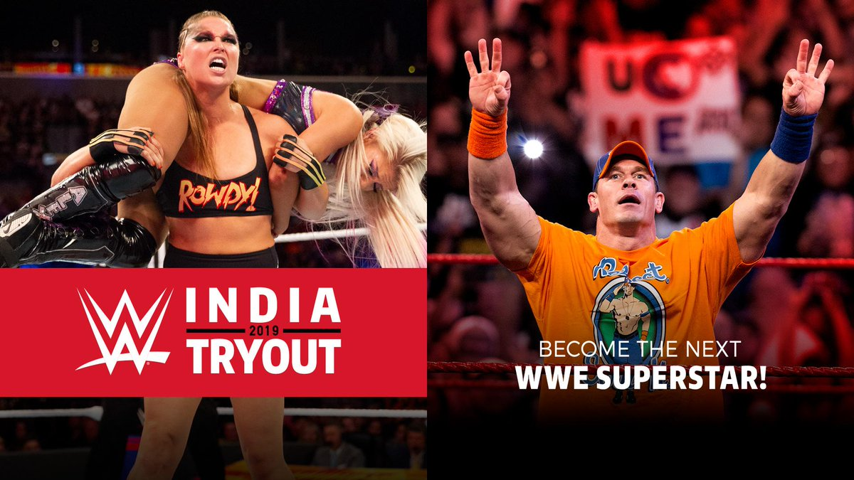 Image result for WWE Announces First-Ever India Tryouts