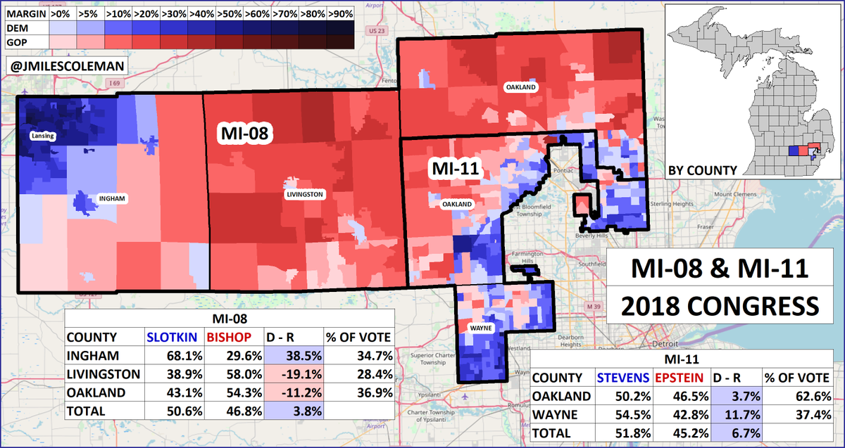 Coleman Michigan Map.J Miles Coleman V Twitter Democrats Flipped Two House Seats In