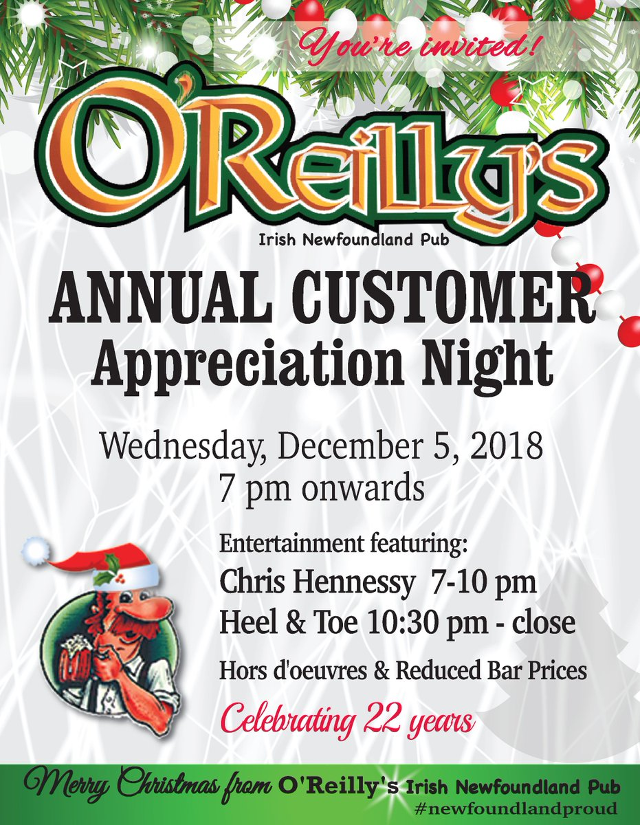 O\'Reilly\'s Pub on Twitter: \