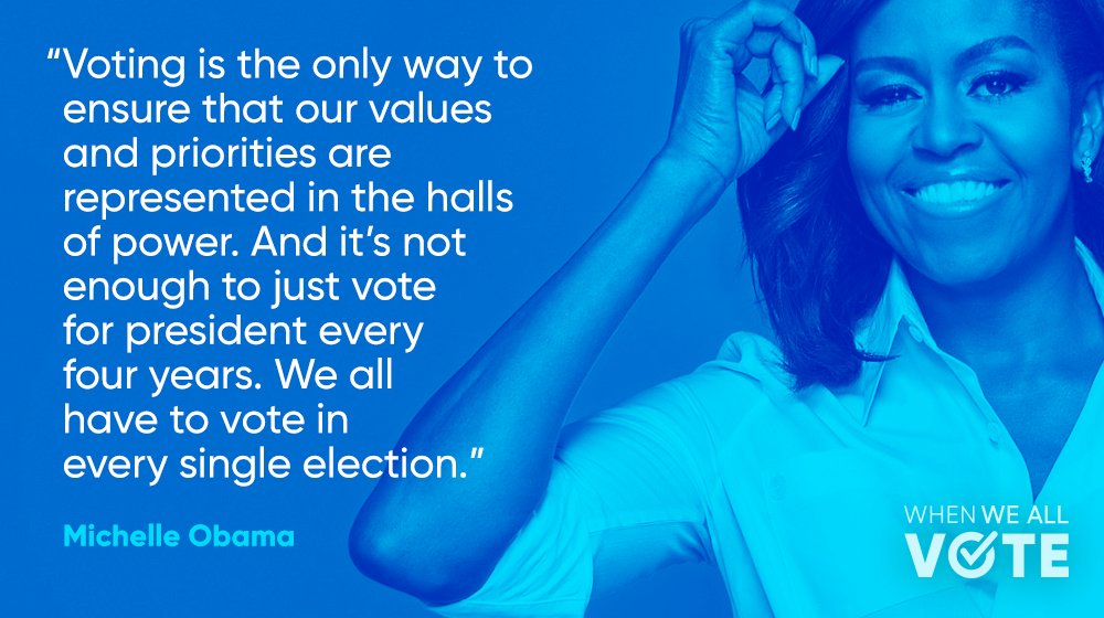 #MondayMotivation brought to you by @MichelleObama ✨