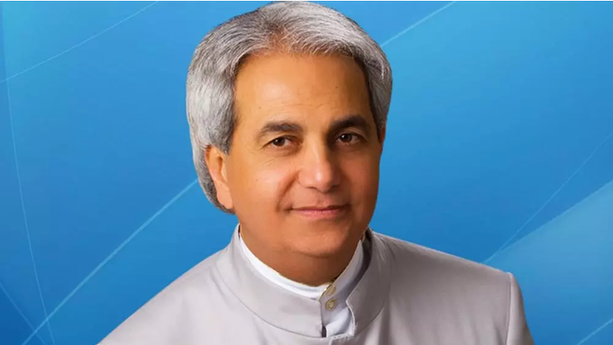 Happy birthday Highly Esteemed pastor Benny Hinn more grace and joy unspeakable in your life
