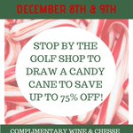 Image for the Tweet beginning: Our candy cane sale with