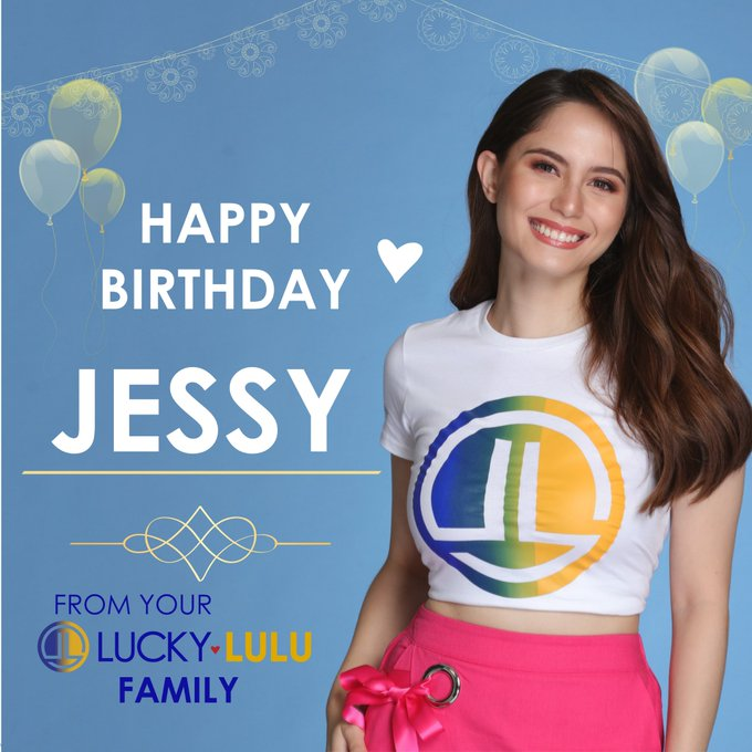 HAPPY BIRTHDAY TO THE BEAUTIFUL JESSY MENDIOLA!   From your LuckyandLulu family