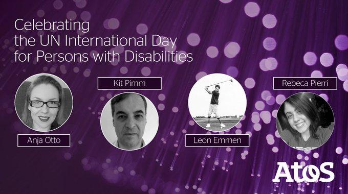 ☝️Hoy nos vestimos de violeta en honor al Día Internacional de las Personas con...