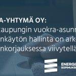 Image for the Tweet beginning: Vastuullisten #energia'nkäyttäjien joukossa @OulunSivakka: aktiivinen