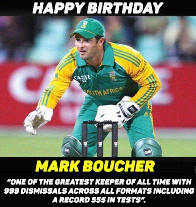 Happy Birthday, Mark Boucher