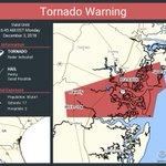 Image for the Tweet beginning: Tornado Warning including Brunswick GA,