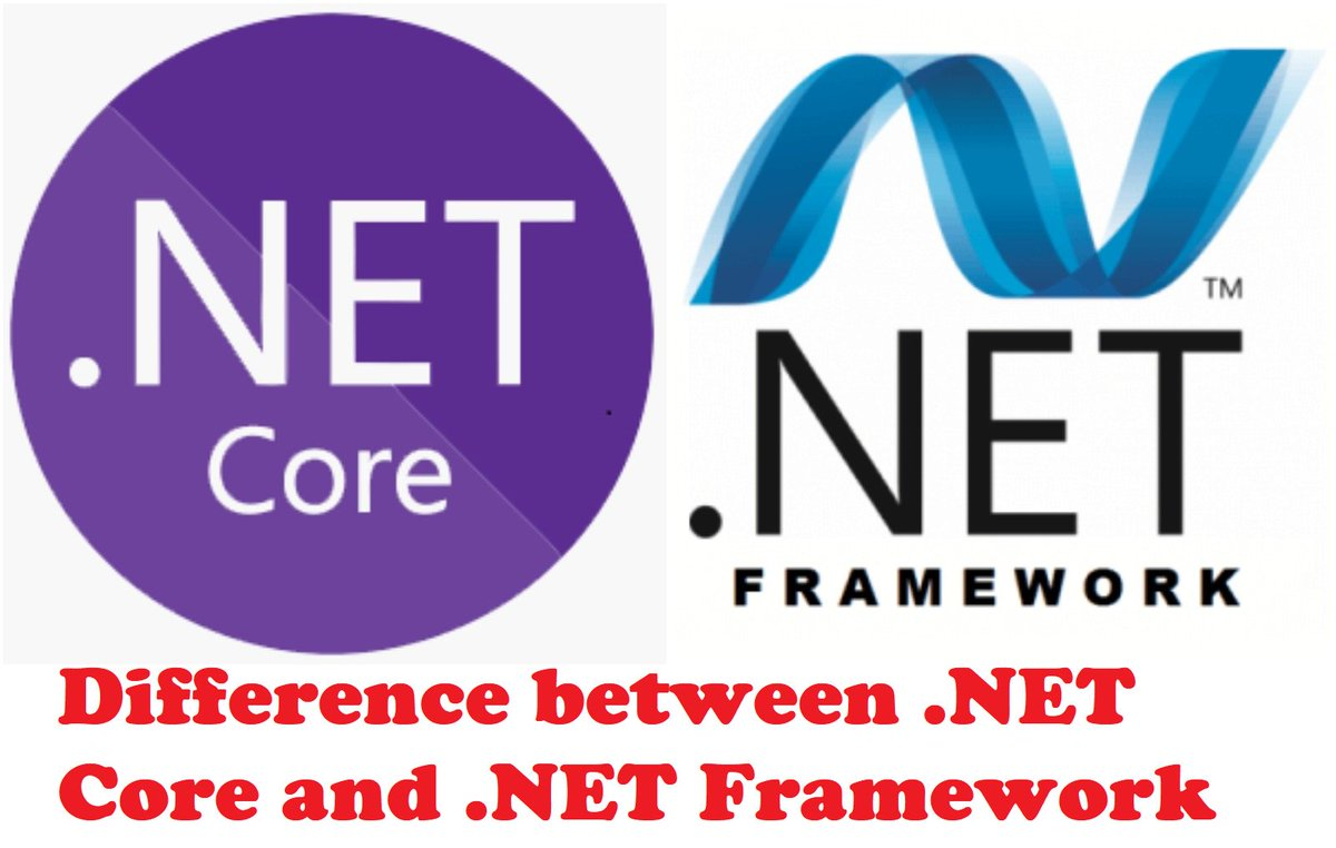difference between  net core and  net framework