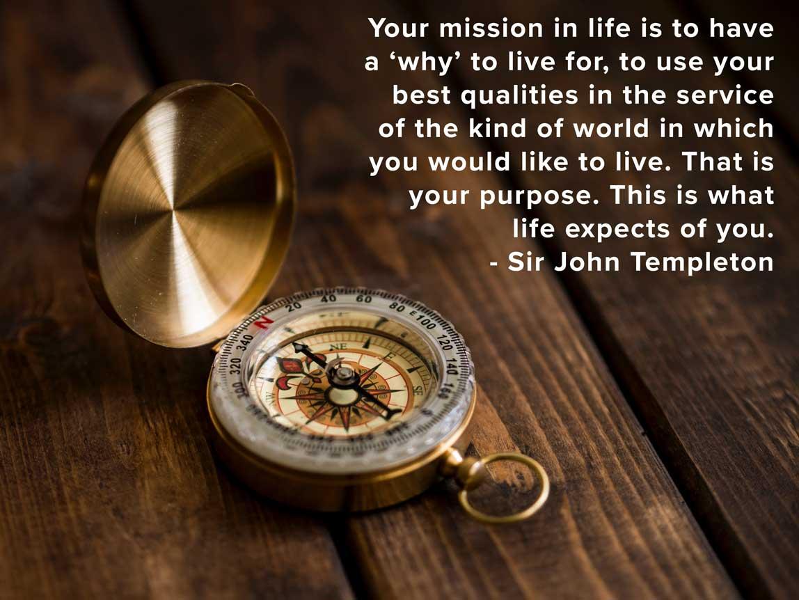 #motivationmonday #quoteoftheday #sirjohntempleton #purpose