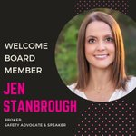 We're thrilled that Jen Stanbrough has accepted a position on our Board of Directors.  Jen brings a wealth of industry knowledge and a passion for agent safety.