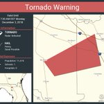 Image for the Tweet beginning: Tornado Warning continues for Columbia