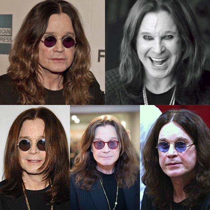 Happy 70 birthday to Ozzy Osbourne . Hope that he has a wonderful birthday.