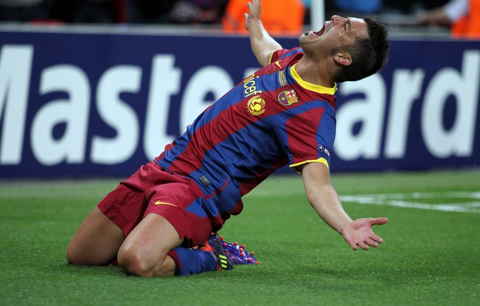 Happy Birthday to Barcelona hero DAVID VILLA