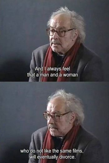 Happy birthday, Jean - Luc Godard.