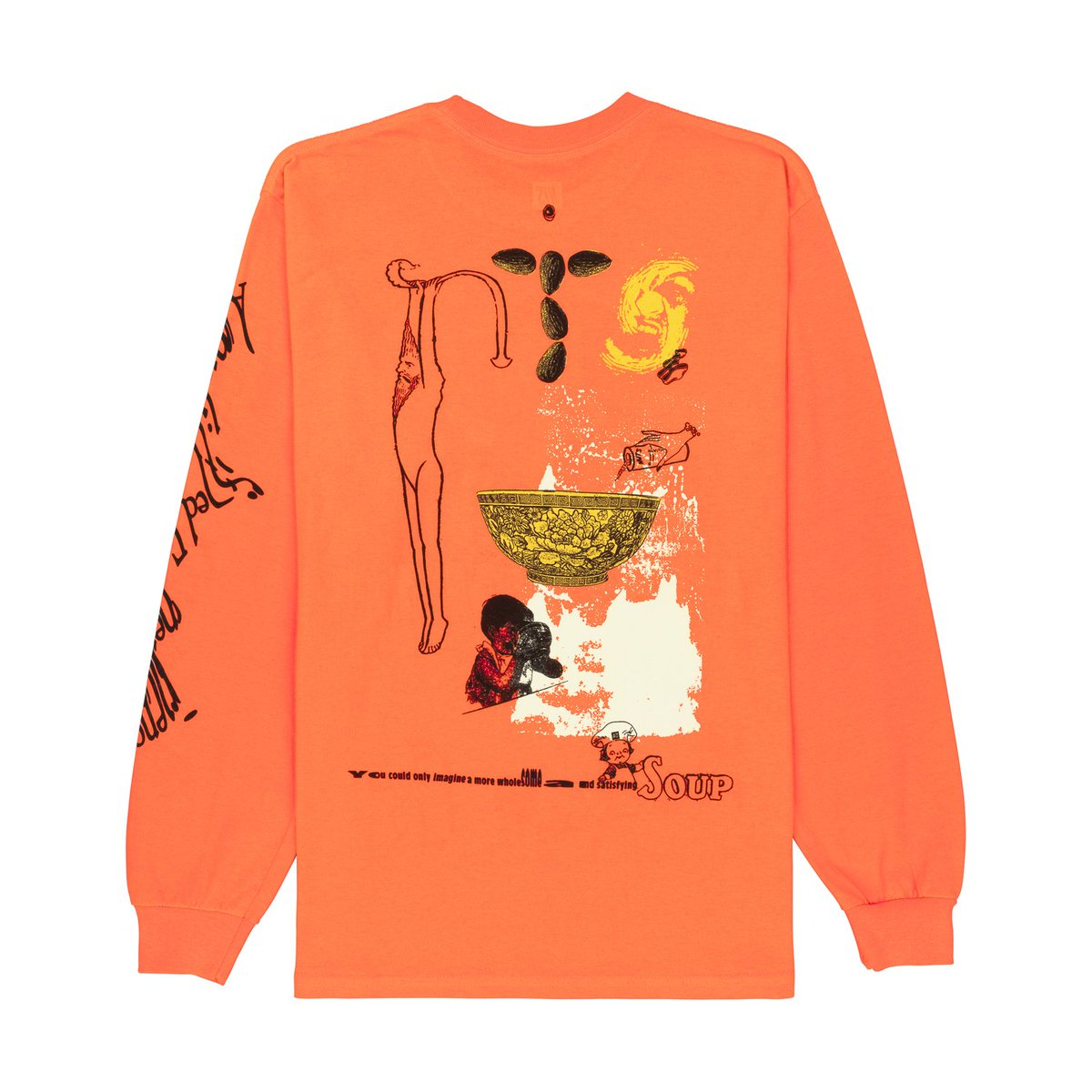Nts Radio On Twitter Orange L S Soup Doodle Tee Is Back In Stock Thanks To Por Demand Get Yours Https T Co Aqt9hgwz