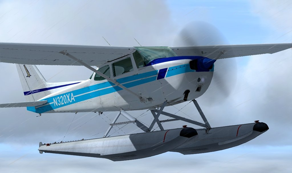 New FSX/P3D float-equipped C172 from AEROPROYECTO - three