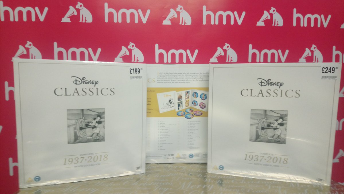 A Disney Christmas Gift Dvd.Hmv Liverpool One On Twitter Something Very Special From