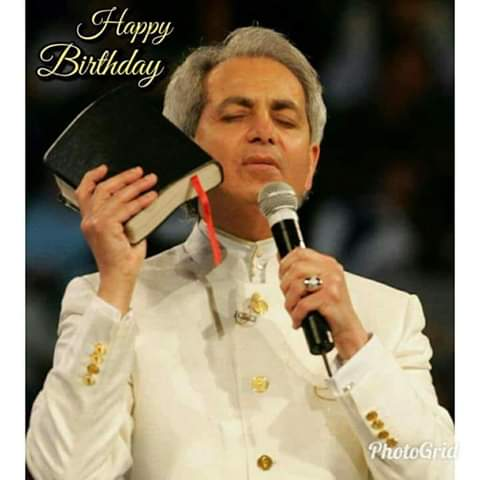 Happy birthday Pastor Benny Hinn