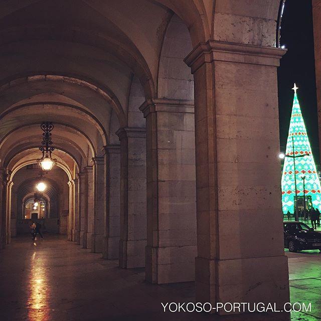 test ツイッターメディア - 凱旋門側からのクリスマスツリー。 #リスボン #ポルトガル https://t.co/wzSYLKQAZN