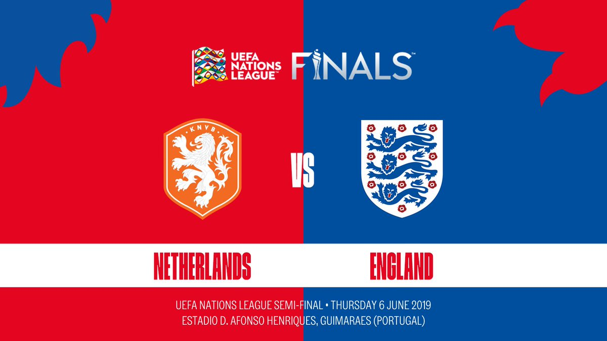 Its confirmed: the #ThreeLions will face the Netherlands in the #NationsLeague semi-finals!