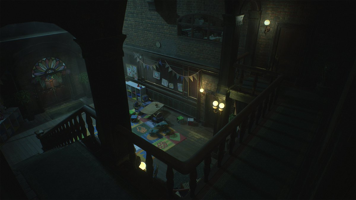 Raccoon City is larger than you may remember it to be… Explore the Orphanage, a brand new area in #RE2! Available January 25th, 2019.