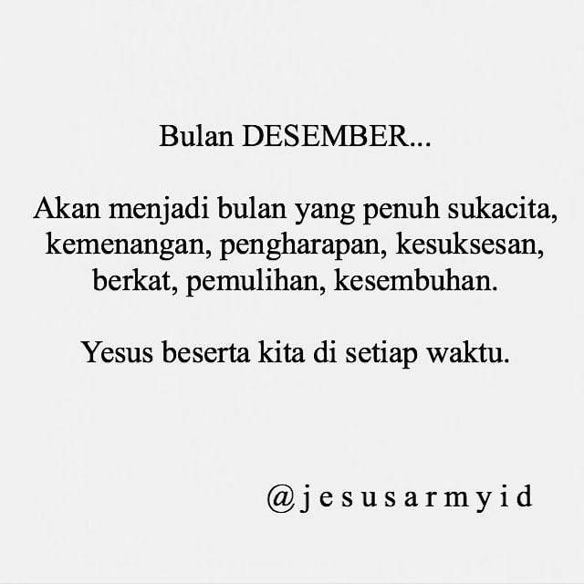 Welcome Desember 96