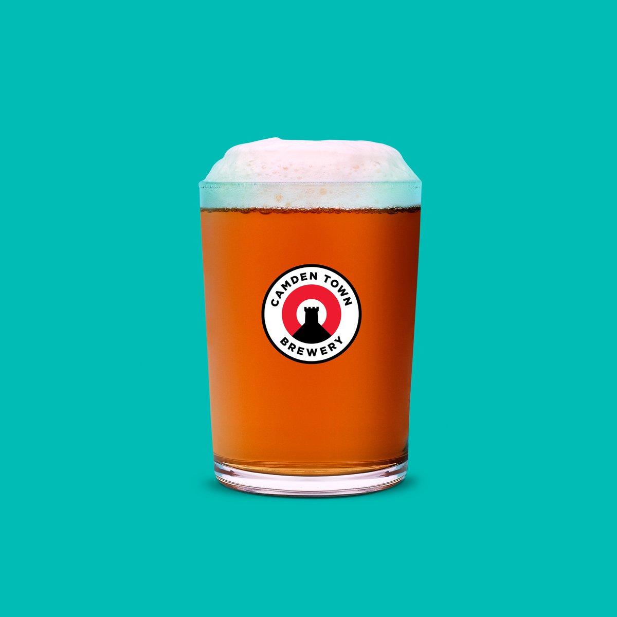 Camden Brewery Jack Pint Glass