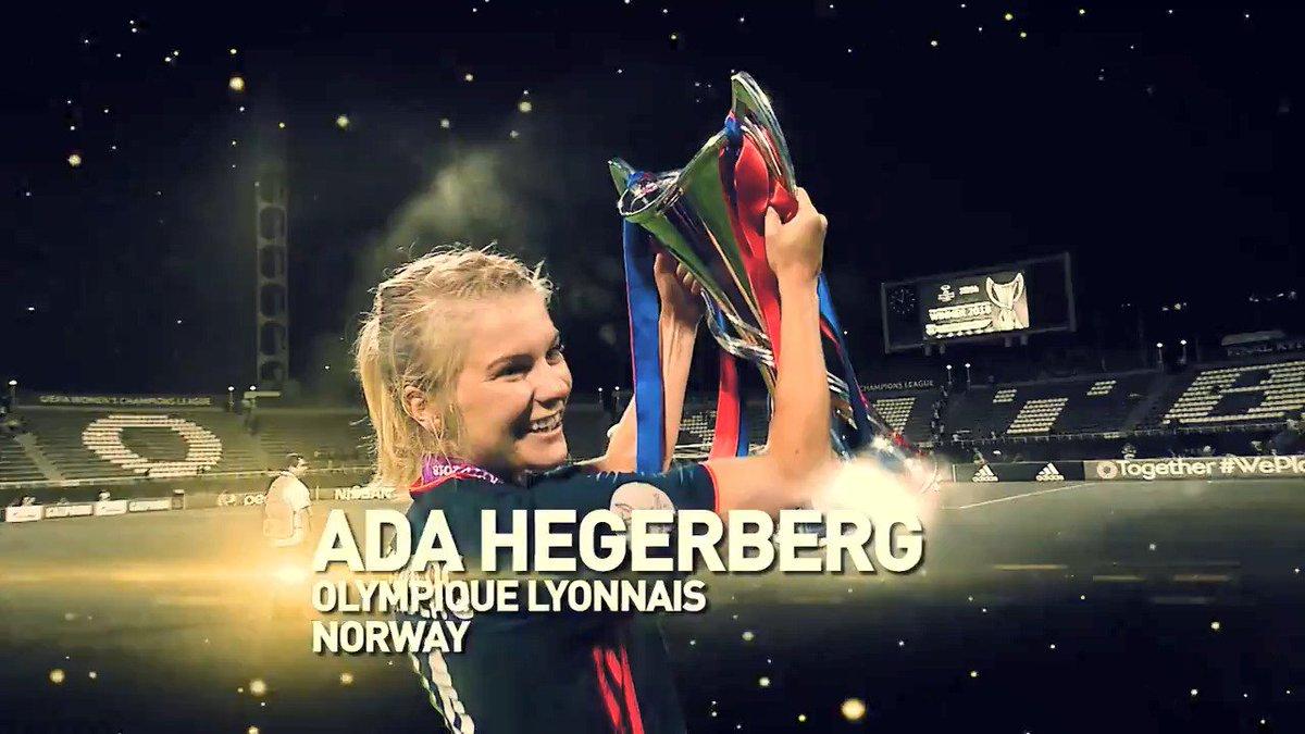 Lyon star Hegerberg wins Women's Ballon d'Or