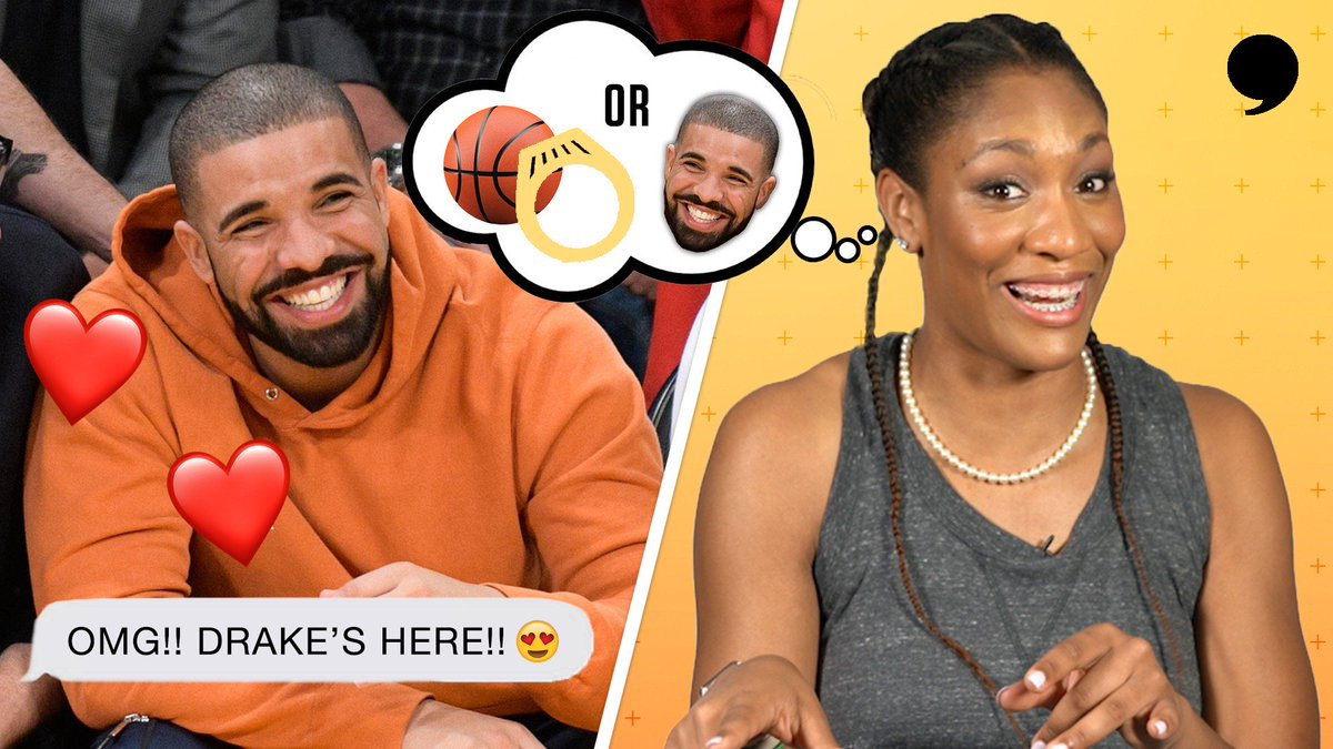 I dont even know what Imma do when I meet Drake. @_ajawilson22 tells the story of missing her shot at meeting the music legend. Can we get something arranged, @Drake?