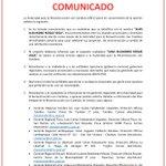 Image for the Tweet beginning: #COMUNICADO La @AutoridadRCC pone en conocimiento