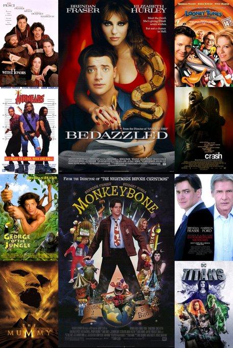 ¡Happy birthday Brendan Fraser!