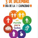 Image for the Tweet beginning: #DiaInternacionalDiscapacidad