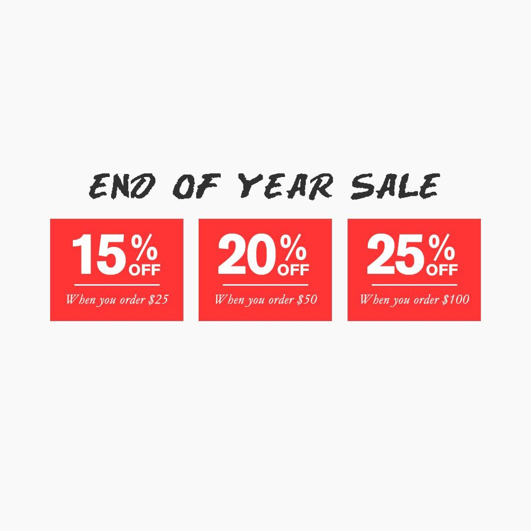 announcing our end of year sale. head to our online store now through december 31st to save: https://t.co/q0Ldie8CTa https://t.co/PeOUR8s3Me