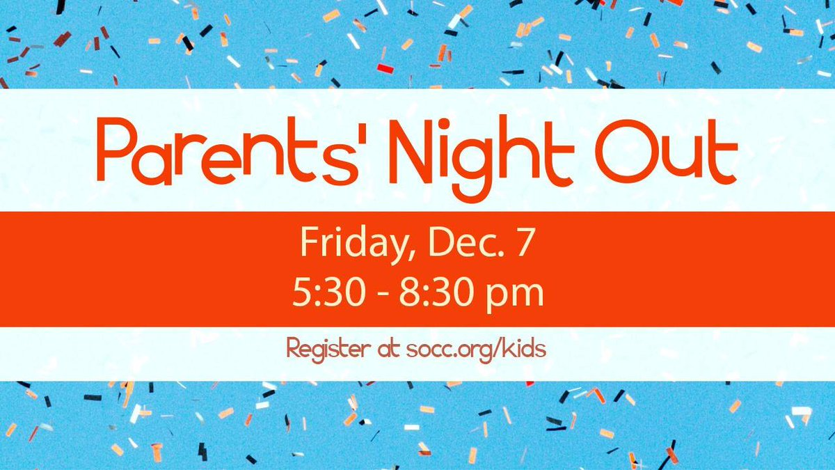 Parent's Night Out is Friday at Bloomington East! Let us take care of your kids for a couple hours! Register at https://t.co/ZqmQOwsT86 https://t.co/iHwkh48xC4