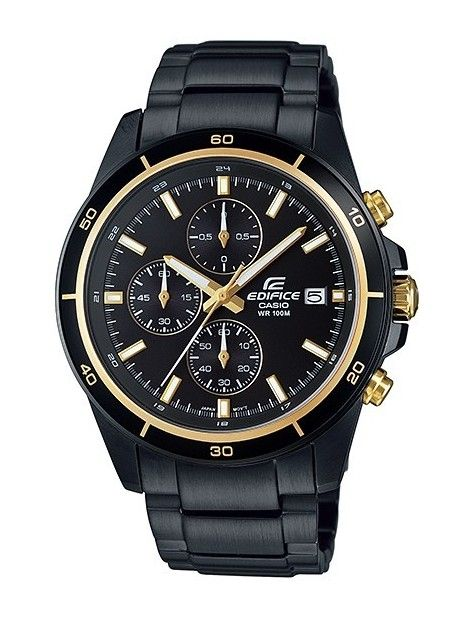 Edifice EFR-526BK-1A9VUDF (EX208) Black/Black Chronograph Watch At  Get it now :  #edificewatches #casio #zegareknareke #zegarek #edifice #edificeoriginal #zegarki #prezent #zegarekmeski #edificewatch #moda #ladiesfashion