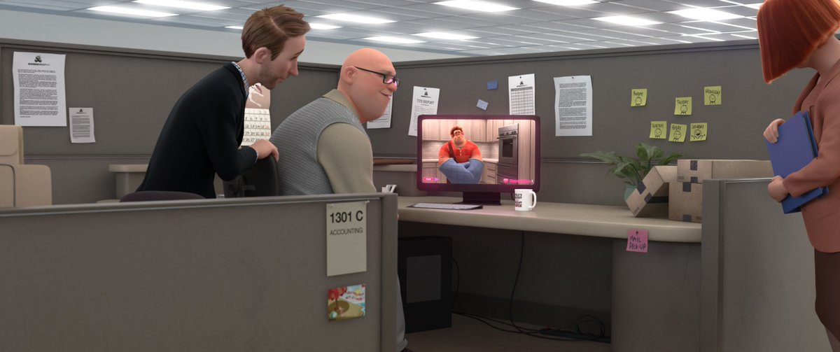 There are more than hidden Mickeys in #RalphBreaksTheInternet . From Clarabelle Cow to Humphrey the Bear to Hei-Hei, check out these @Disney Easter eggs. Plus, see if you can spot the TPS Report from #OfficeSpace. @wreckitralph @YahooEnt More: yahoo.com/entertainment/…