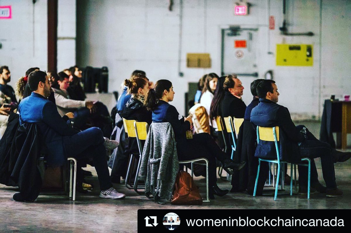 Happy to sponsor such a great day and spread the word of a #NikoPowered community.  The #WomeninBlockchain Canada vision is to inspire women to become involved in #blockchaintechnology through educational conferences, social networking and workshops.  #empower #inspire #diversity