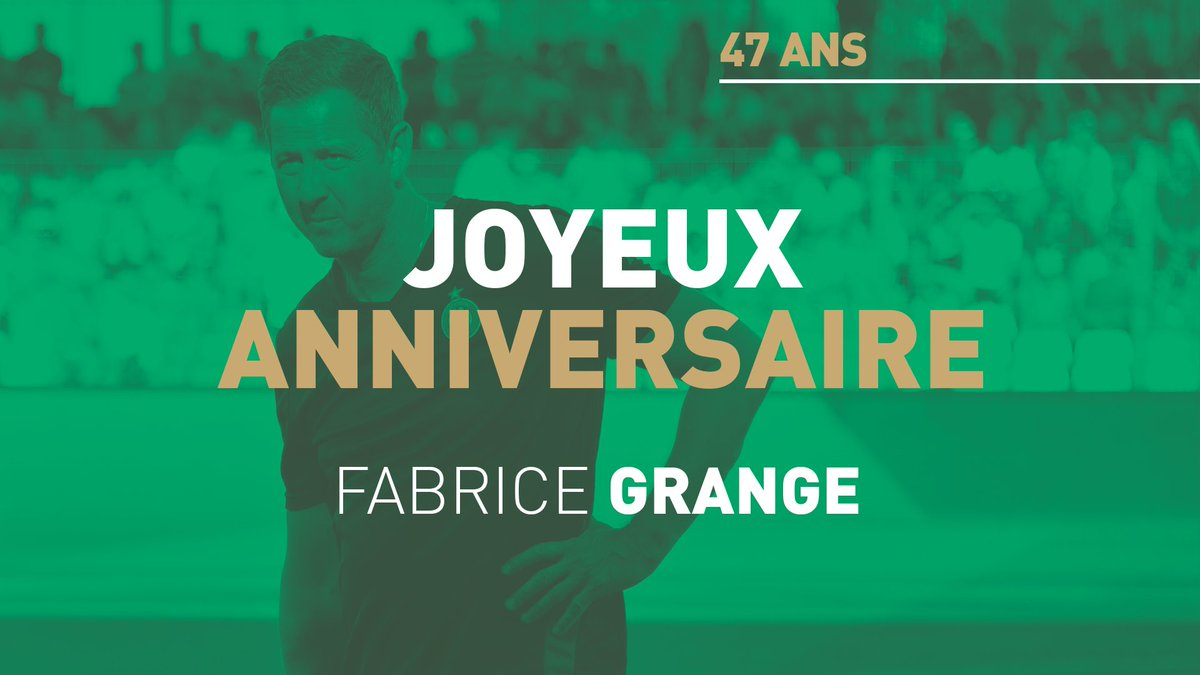 As Saint Etienne On Twitter Joyeux Anniversaire Grangefabrice