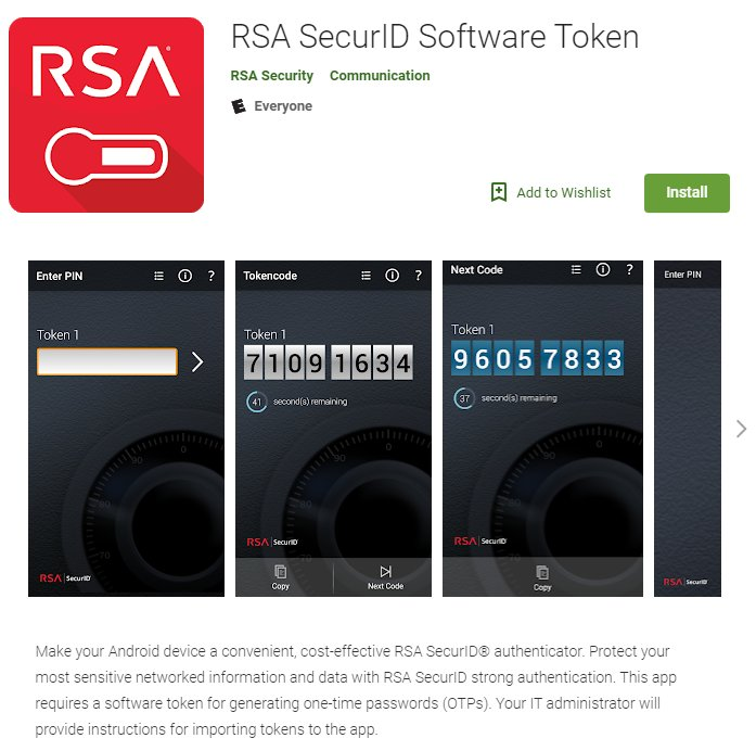 RSA Support on Twitter: