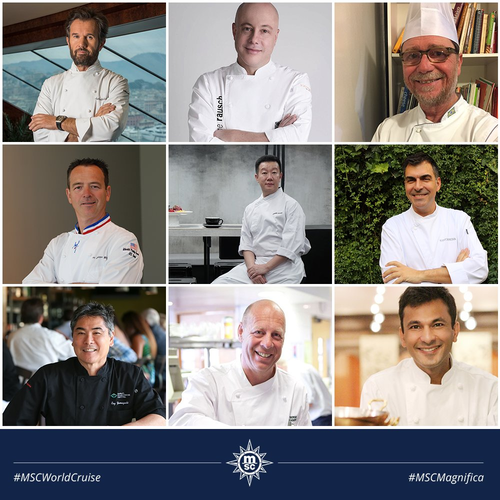 Our first #WorldCruise sets sail on the 5th of January and guests on board are sure to remember the incredible culinary offering, thanks to an all-star line-up of award-winning and Michelin-starred chefs from around the globe https://bit.ly/2BNXln3pic.twitter.com/7ISmoPGrNP