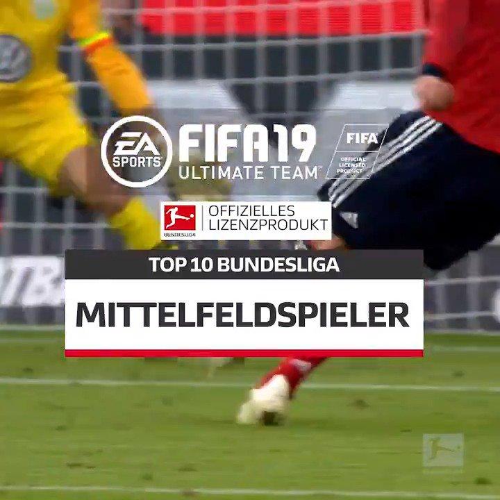 Spielmacher, Achter, Flügelspieler... Alles dabei bei den #BundesligaTop10 in der Kategorie Mittelfeld #FUT #FIFA19  👉 http://bit.ly/2F5Iqs9
