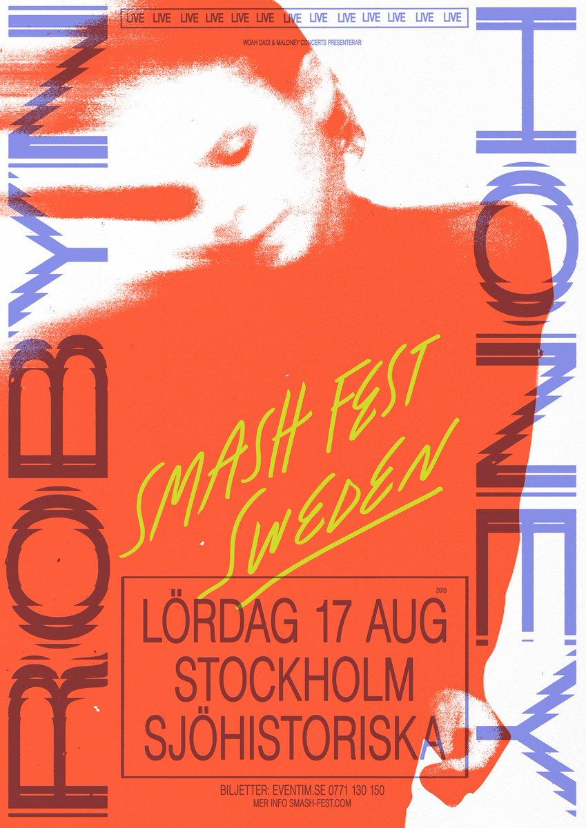 This will be special ✴️ SMASH STHLM smash-fest.com